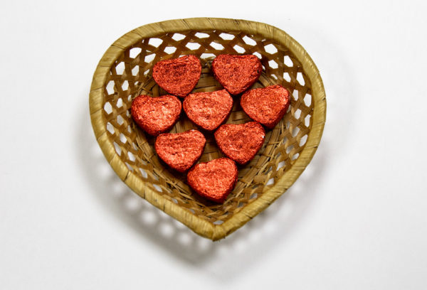 Чай Пуэр Шу классический мини сердце