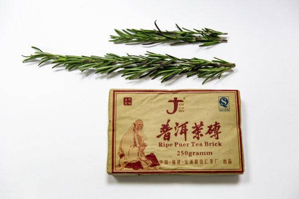 Зеленый чай пуэр шу