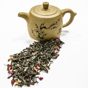 Чай пуэр вишневый