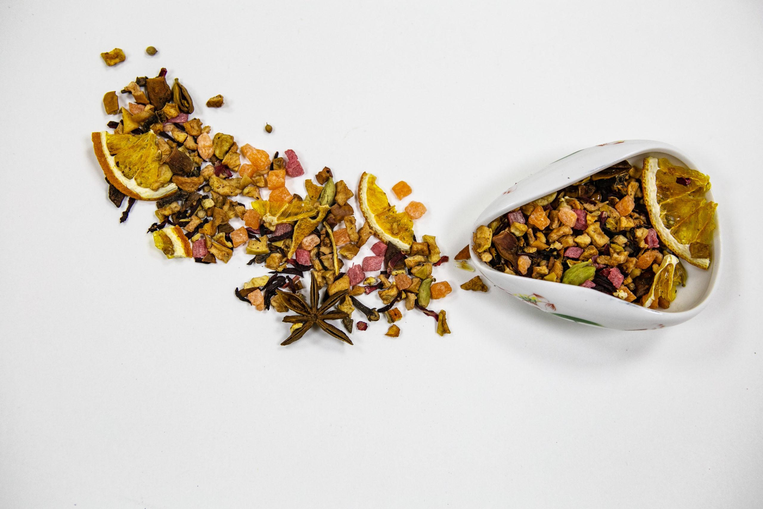 Фруктовый глинтвейн ароматизированный чай