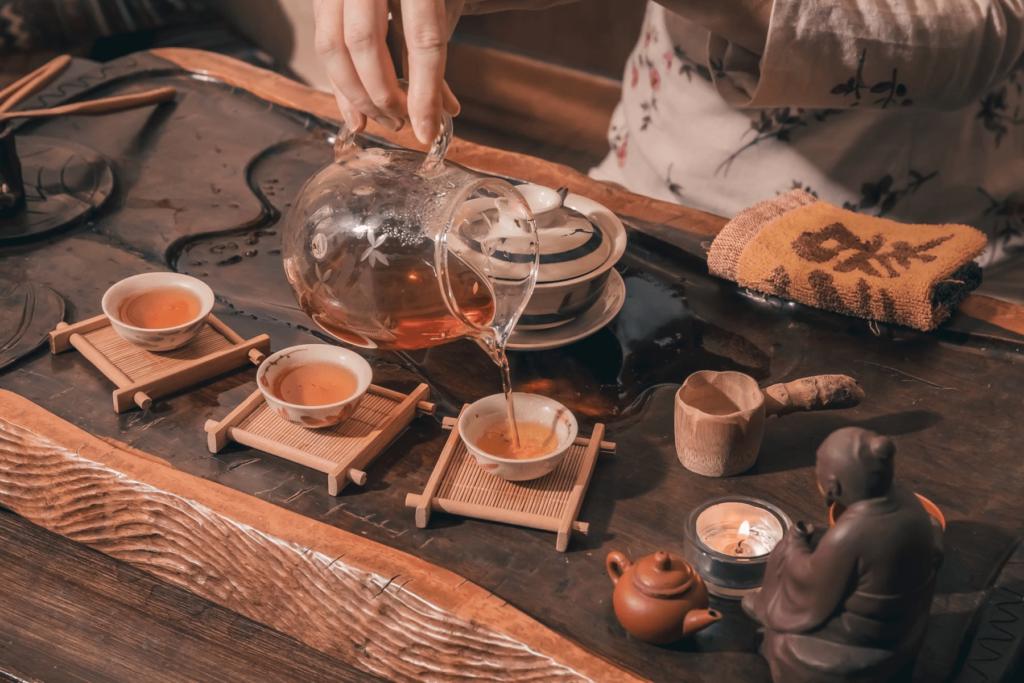 Чайная церемония пуэра